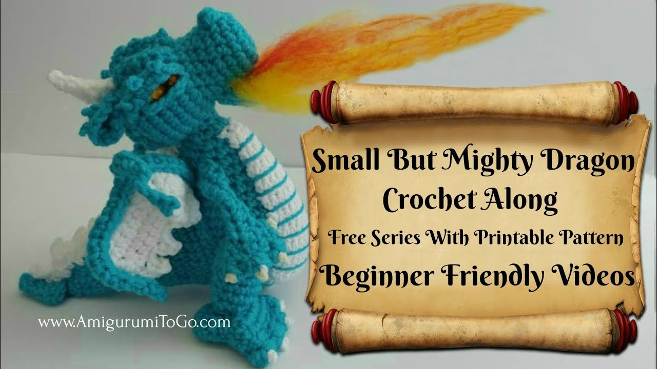 Mini Dragon amigurumi pattern - Amigurumipatterns.net | 720x1280