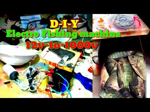 Electro Fishing Machine 1000 Volt Gawang Pinoy Ito
