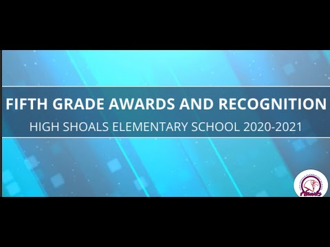 High Shoals Elementary School Fifth Grade - 2019/2020