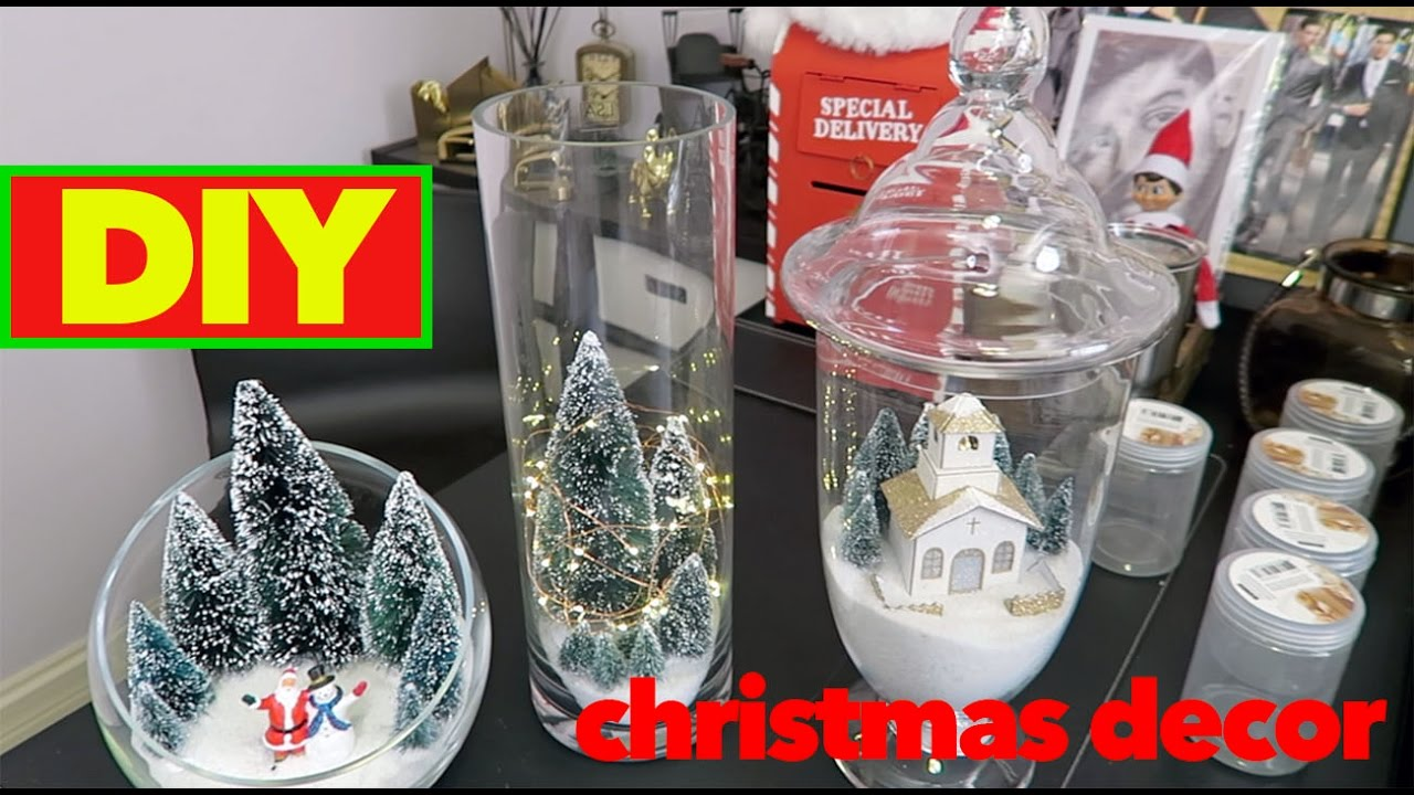 Christmas Decoration Ideas Christmas Decorations Diy Apothecary Jars Michaels Craft Store Youtube