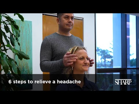 6 Steps To Relieve A Headache