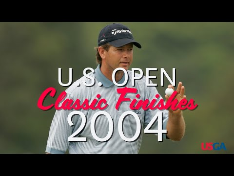 2004 U.S. Open: Final Round, Back Nine