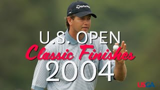 2004 U.S. Open: Final Round, Back Nine