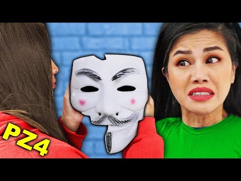 FACE REVEAL of HACKER GIRL REGINA PZ4 - Unmasking Spy Ninja Challenge