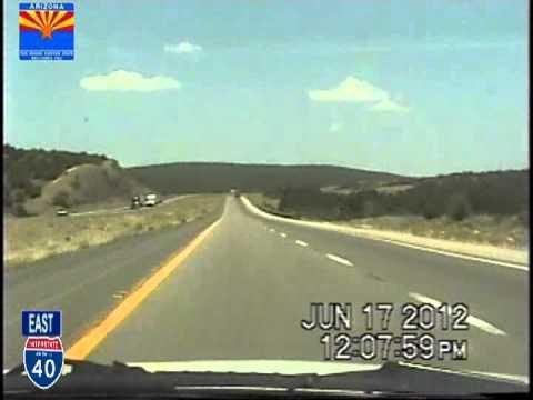 Kingman AZ to Williams AZ Time Lapse Drive 110 Miles