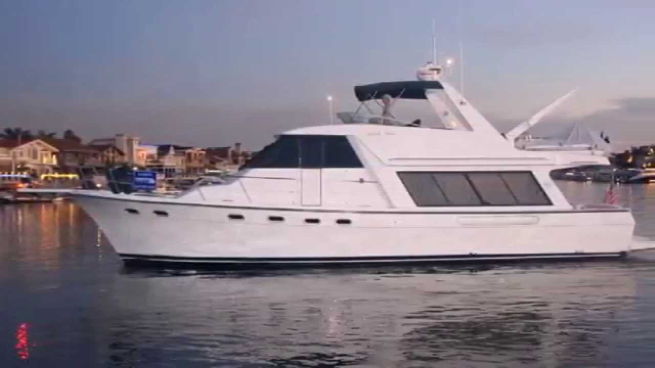 47 Bayliner 4788 Pilothouse 2002 Youtube