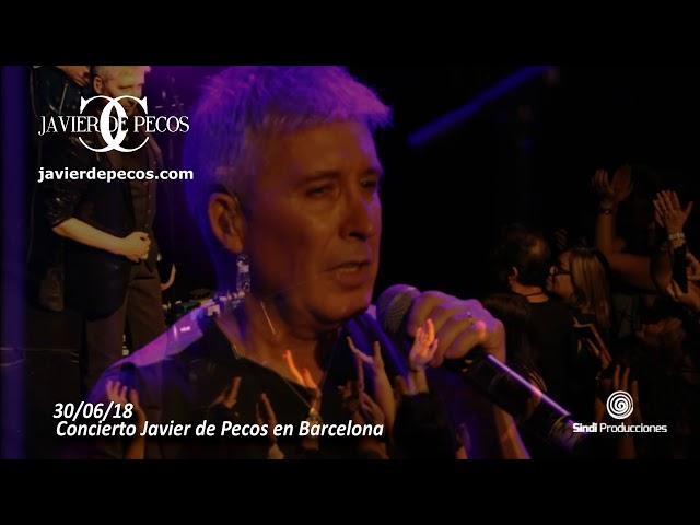 Javier de Pecos en Barcelona 30/06/18 Concierto  - esmiradio.es