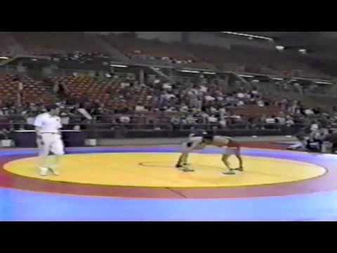 1994 World Cup: 48 kg Vladimir Torgovkin (RUS) vs. Nasser Zeinal Nia (IRI)