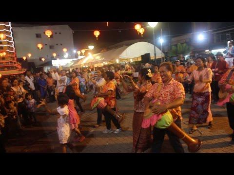 Andaman Festival 2014, Krabi Town, Thailand. Street food, music & culture