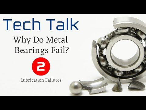Bearing Failure Video (2/4) - Lubrication Failures