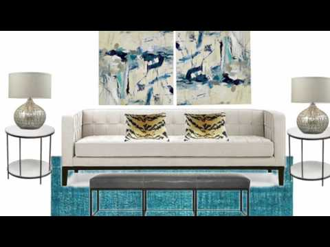 Interior Design: One Sofa…3 Different Styles
