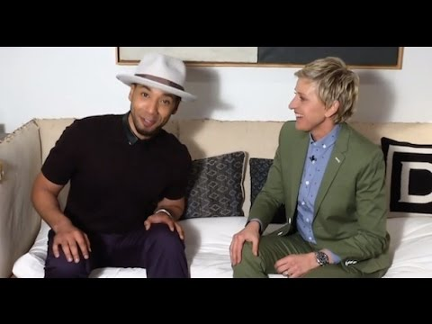 Empre Star Jussie Smollett Gets Personal WIth Ellen Backstage Comes Out As Gay?