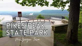 Pikes Peak State Park in Iowa/ RV camping, Hiking and more/ from Chicago IL to McGregor IA road trip