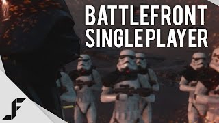 Star Wars Battlefront Singleplayer Walkthrough