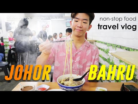 EATING NON-STOP in Johor (Malaysia) • Travel VLOG | Local food is so good