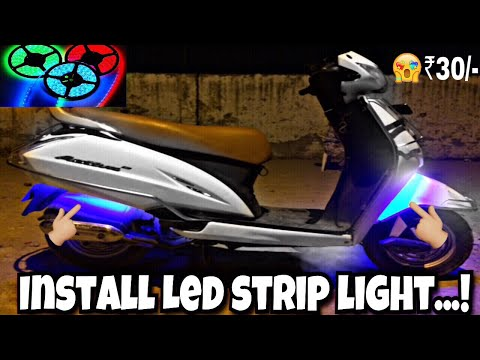 How To Install LED Strip Light II For All Scooters