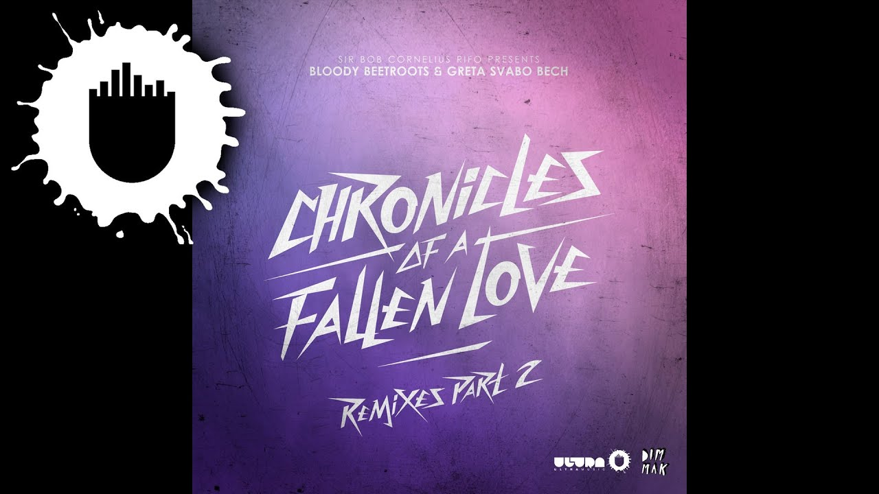 The Bloody Beetroots & Greta Svabo Bech - Chronicles Of A Fallen Love (Alesia Remix) (Cover Art)