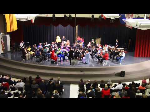 Clearfield Community Band-Through Darkened Sleepy Hollow By Erik Morales-Halloween Concert Oct. 2015