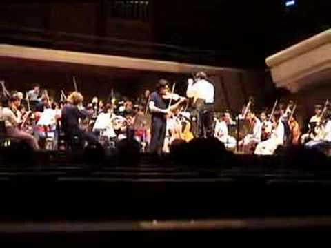 Koh Gabriel Kameda - Gruenberg violin concerto 2nd Mov