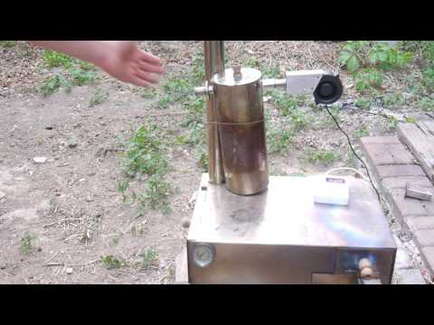 Lighting wood pellet in cold smoke generator, Part I