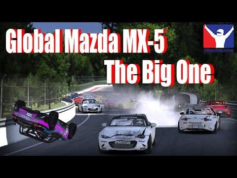The Big One   Global Mazda MX-5 Cup Crash @ Montreal   iRacing