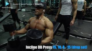 Muscular Development CHEST WORKOUT with Evan Shy