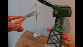 Thomas and Friends ! - Cranky the Crane - How to Fix Cranky - String Replacement thumbnail