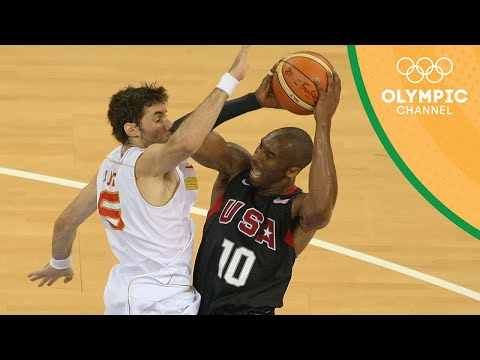 Spain vs USA - Basketball Tournament Gold Medal Match | Beijing 2008 Olympic Games