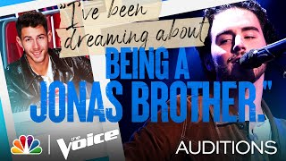 "Andrew Marshall's Tone Shines on John Mayer's ""Gravity"" - The Voice Blind Auditions 2021"
