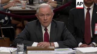 Sessions Says He Long Had Concerns Over Comey