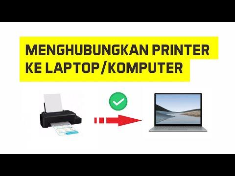 Cara menghubungkan instal aplikasi driver printer epson L120 tanpa CD.