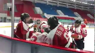Mass brawl erupts between Hong Kong and China ice hockey squads