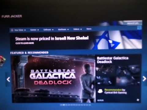 Steam now uses Shekels
