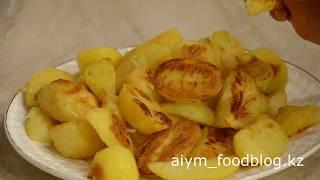 картофель запеченный в духовке/oven baked potatoes