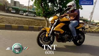 Benelli TNT 600i Detailed Review: Price, Specs & Features | PakWheels