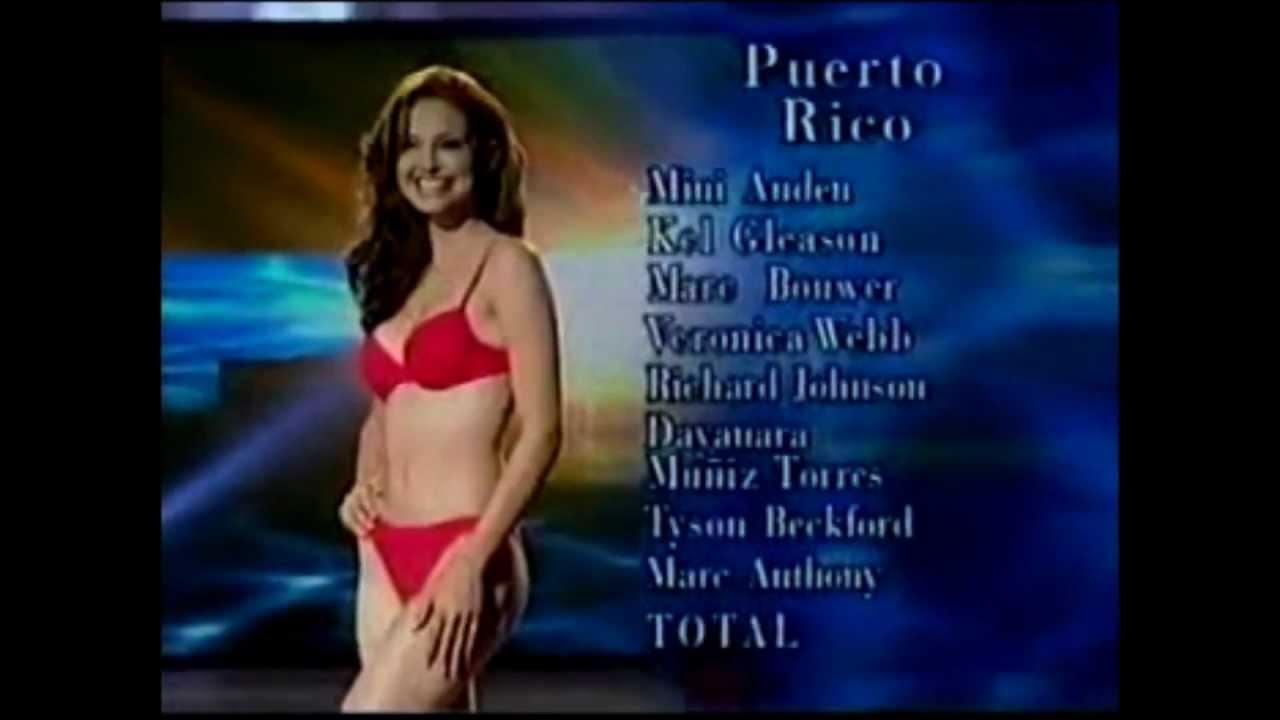RicoMiss Swimsuit QuiñonesPuerto Denise Universe Competition 2001 XZuiOPk