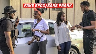 Fake EFCC/SARS Arresting People  (Zfancy Prank Videos)