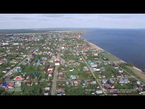 Аэросъемка города Лаишево