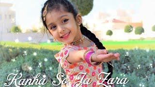 Kanha So Ja Zara| Bahubali 2| Ishanvi Hegde| kids dance|Laasya young dancer series