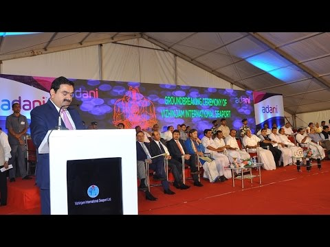 Vizhinjam Port Ground Breaking Ceremony