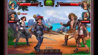 Pirates Caribbean Sails | Facebook Gameroom #Demonstração