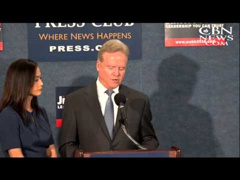 Webb Drops Democratic Bid for President