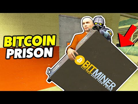 BITCOIN MINING IN A PRISON! - Gmod Prison RP (Making Money With Cryptocurrencies In A Prison)