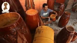 Yaya, Pembuat Gendang Nomor Satu Di Bogor