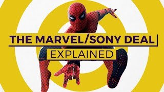 The Marvel / Sony Deal Explained, From 'Homecoming' To 'Venom'
