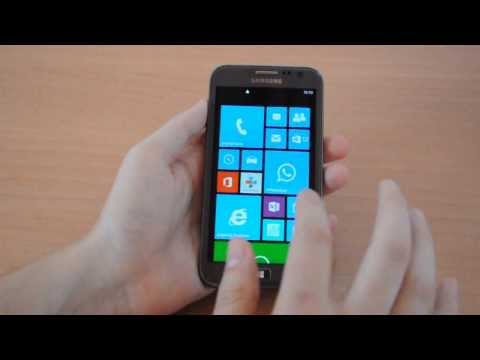 Samsung ATIV S. Unboxing & Test