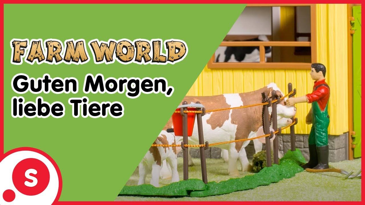 Schleich Farm World Guten Morgen Liebe Tiere