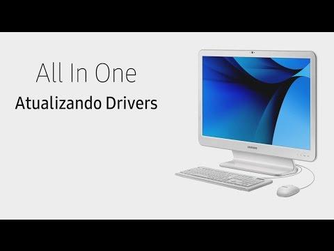 Samsung All In One Atualizando Drivers Youtube