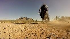 Go Pro Hero 3 Arizona Off Road Desert Dirt Bike Ride: Apache Junction