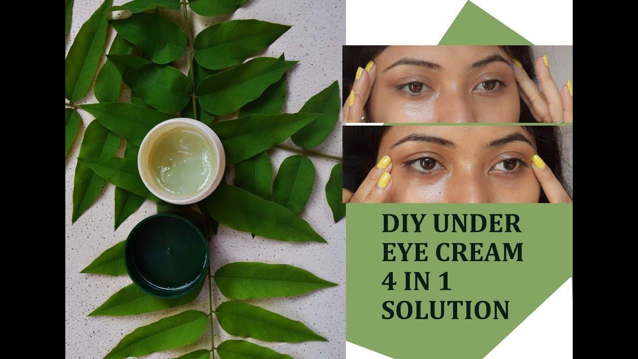 DIY Under Eye Cream Removes Dark Circles, Puffiness, Eye Bags,  Wrinkles/Homemade Under Eye Cream